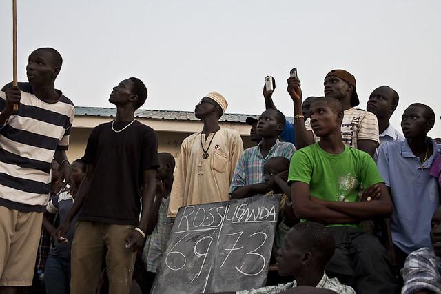 South Sudan basketball game. Photo copyright Conor Ashleigh