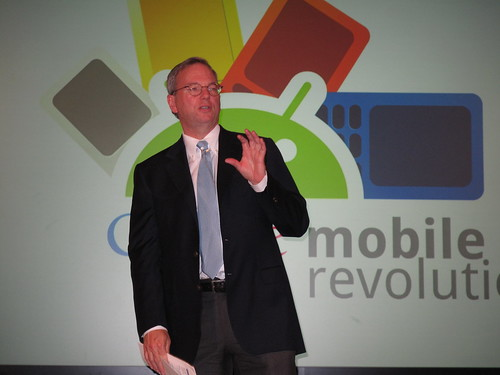 Google執行董事長Eric Schmidt
