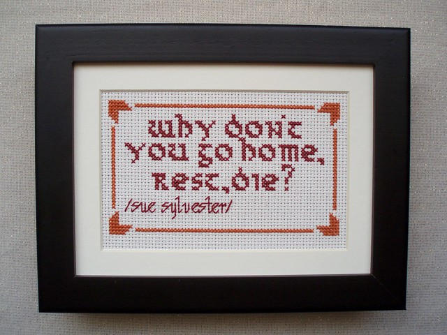 glee cross stitch