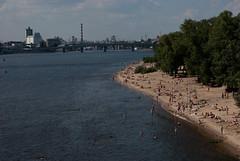 Kyiv beach