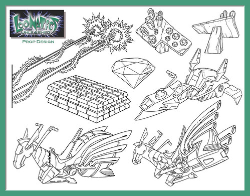 loonatics unleashed coloring pages - photo#3