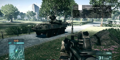 Battlefield 3 (PC) Alpha testas / screenshots ir video