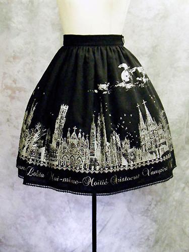 Moi Meme Moitiè Moon night story skirt