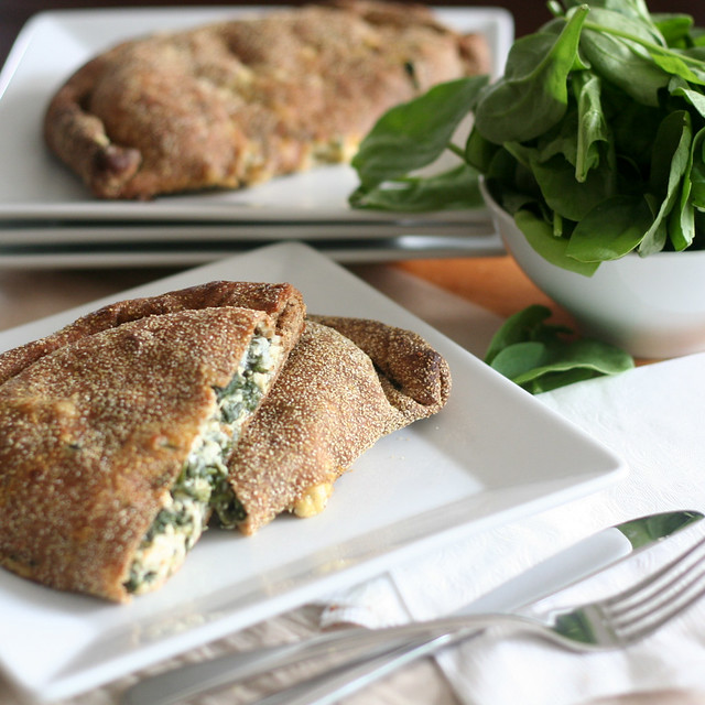 Cooking: Oh Versatile Calzones – Cheezy Spinach Version