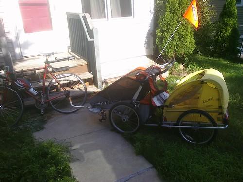 Bike Trailer Train