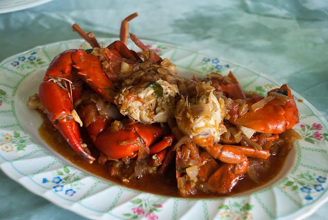 Crab in Chaung Tha, Myanmar