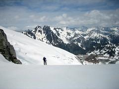Chikamin glacier