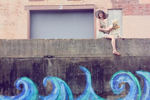 フリー写真素材, 人物, 女性, 人と風景, 帽子・キャップ, アメリカ人,