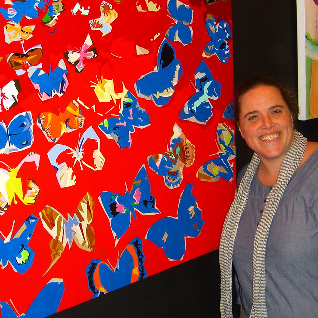 Me with my painting
