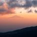 View from Kilimanjaro to Mt. Meru