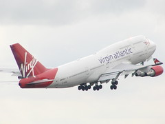 Virgin B747 Takeoff! (Alex Staniforth: Wildlife/Nature Photography) Tags: 3 alex cheshire wildlife casio peaks staniforth stani exfh20