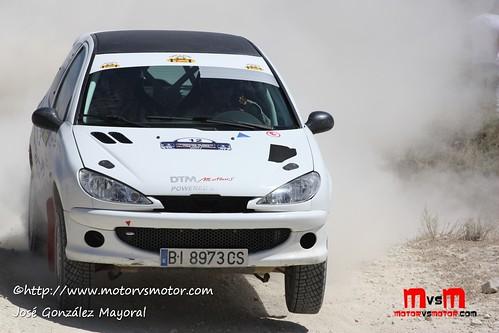 Campeonato España Rallyes de Tierra-Baja España Aragón 2011