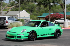 Porsche 997 GT3RS (agup627) Tags: motion black green sport yellow breakfast club america austin germany movement texas action tx side wheels profile 911 wing stripe ferrari german porsche panning signal rs spoiler fca gt3 997 caliper renn gt3rs blackwheels 9971 rennsport yellowcaliper signalgreen ferrariclubofamerica fcabreakfast