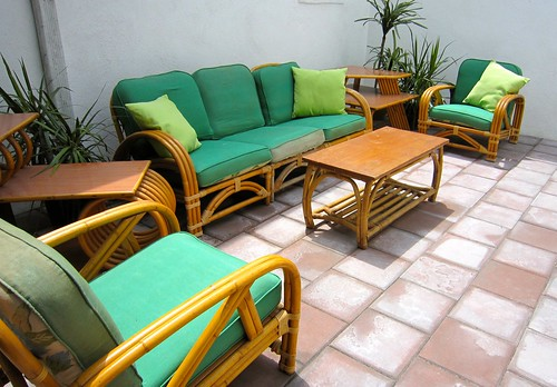 Tropitan By Ritts Rattan Patio Set