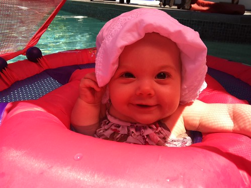 Water baby 7 months