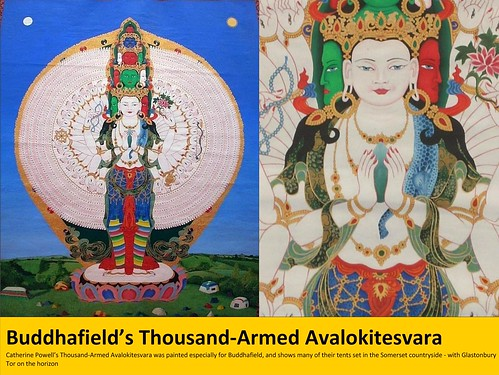 July - Buddhafield's giant 1000-Armed Avalokitesvara by Triratna Photos