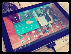 masa untuk test Samsung Galaxy Tab 10.1