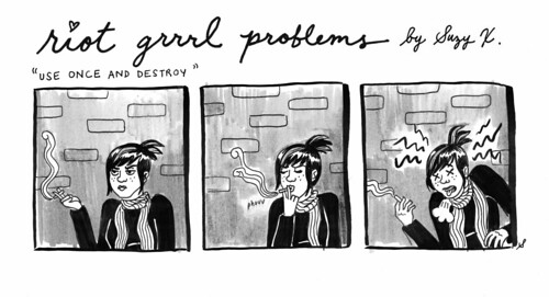 RIOT GRRRL PROBLEMS 5 by suzy_ex