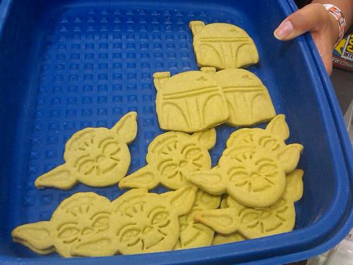 Comic-Con 2011 Yoda Cookies