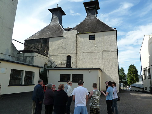 Distillery Tour, Glen Ord