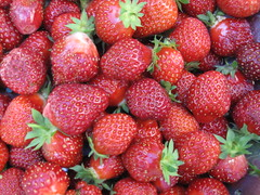 More strawberries