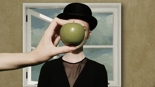 Magritte Inspired Video Still via becauselondon 02