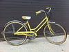 (Laser Burners) Tags: classic bike bicycle yellow vintage mint american 1967 breeze 3speed schwin citynoise stepthough