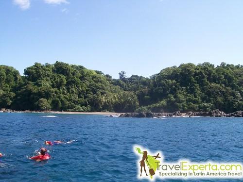 Swimming at Jaco, Costa Rica
