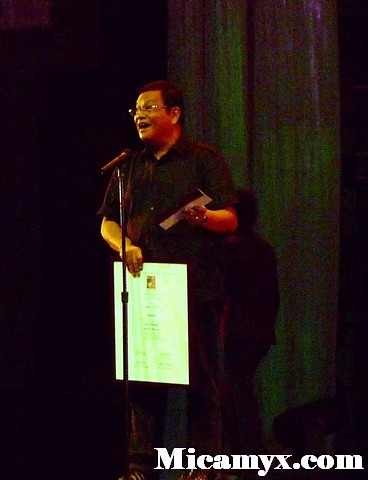 Joel Lamangan was surprised upon learning that the Audience Choice award winner receives a cash prize