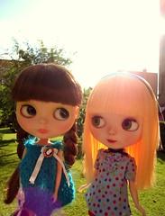 Aurora y Fanta