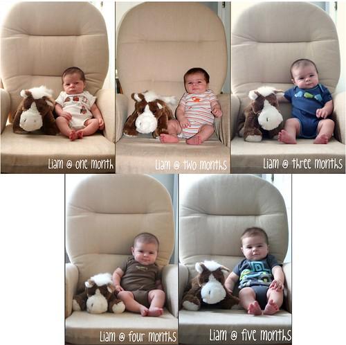 Liam months 1-5
