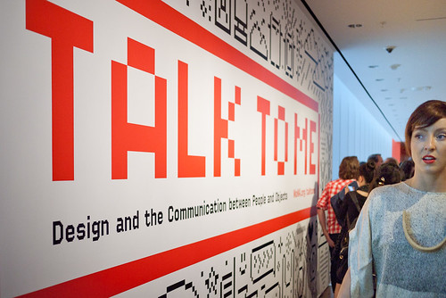 MoMA 'Talk to Me' Exhibition opening