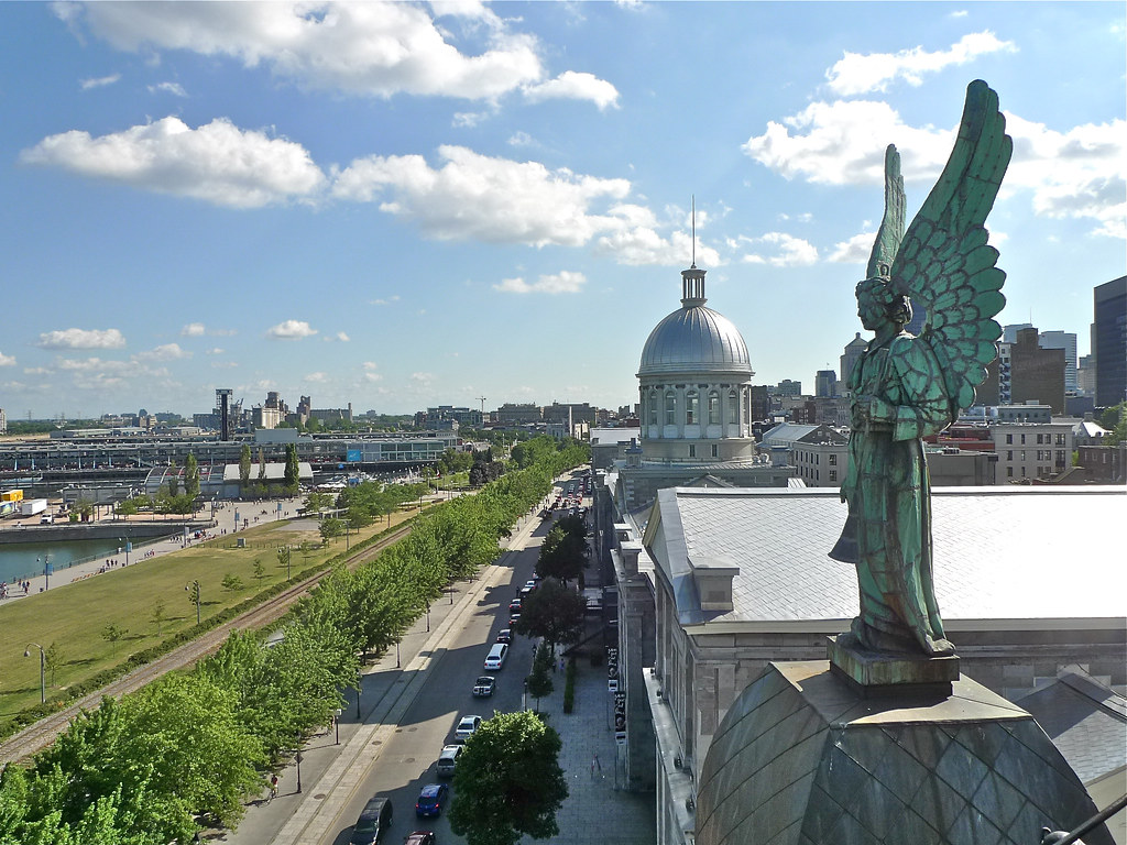 Copyright Photo: Notre-Dame-de-Bon-Secours... Angel... Bonsecours Market by Montreal Photo Daily, on Flickr