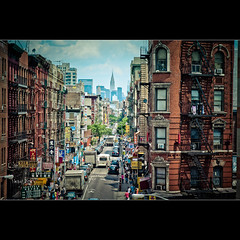 China Town - Eldridge St - Manhattan - NY (Dominique Palombieri) Tags: city nyc usa newyork cityscape manhattan dominique 50iso 105mm 2011 canoneos5dmarkii 1400secatf45 palombieri lensef24105mmf4lisusm