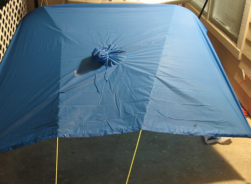 Mockup: Bicycle / Poncho Lean-To Shelter