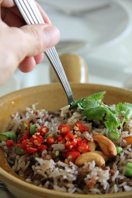Loving Hut Vegetarian Restaurant in Bangkok