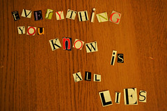 (Tim-Bustin) Tags: magazine is all you know propaganda lies letters everything