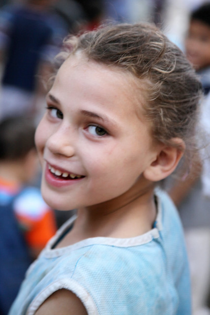 エジプト、カイロの少女