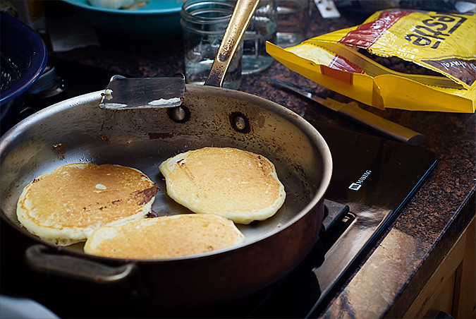 Week in the Life Friday Pancakes