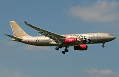 A9C-KB A-330-243 Gulf Air (ChrisChen76) Tags: bahrain heathrow a330 gulfair a330243 bahrainf1grandprix2011