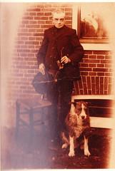 Eiko Johannes Apol met zijn hondje