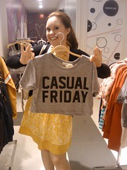 the best clever (half) t-shirt ever (Heather Quintal) Tags: foreverxxi thecasualestoffridays