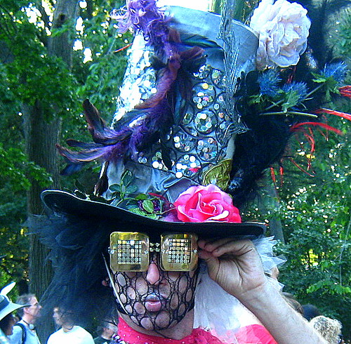 Stephan Keating as the Psychedelic Mad Hatter - Mad Hatter Tea Party