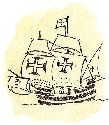 ship detail, lisbon