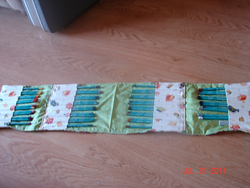 quad fold pencil holder