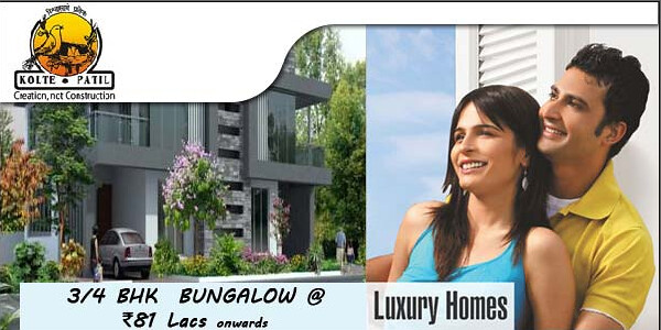 Row Houses - Twin Bungalows - Kolte-Patil I-Ven Township Hinjewadi Pune - 1