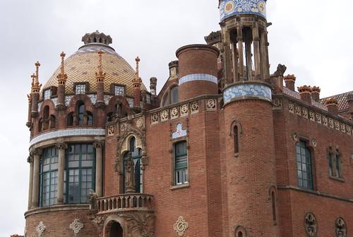 Hospital Ward, Hospital de la Santa Creu i Sant Pau, Barcelona
