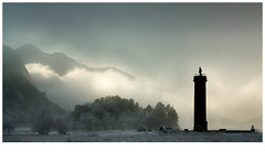 december 26th (Dove*) Tags: sun mist monument scotland frost lochshiel glenfinnan