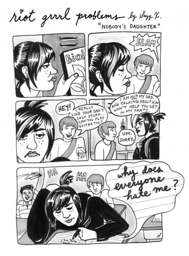 RIOT GRRRL PROBLEMS 7 by suzy_ex