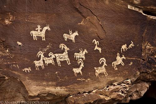 Wolfe Ranch Petroglyphs